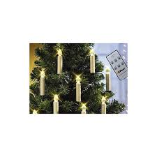 battery powered remote led tree taper candles