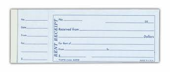 effective and easy to fill rent receipt template for property