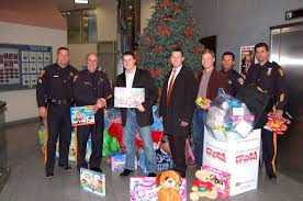 raritan social club teams with somerset county sheriff in u0027toys