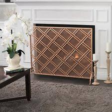 Single Fireplace Screen by Single Panel Fireplace Screen Ebay