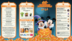 mickey u0027s not so scary halloween party guide map 2014 photo 1 of 2
