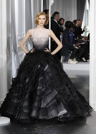 white and black wedding dresses 25 gorgeous black wedding dresses deer pearl flowers