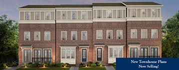 Stacked Townhouse Floor Plans by Meeting Park New Homes And Townhomes In Marietta Atlanta Ga