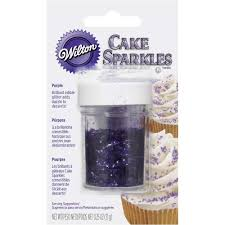 Where To Buy Edible Glitter Purple Cake Sparkles Wilton