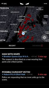 real crime scene photos 2016 vigilante u0027 phone app alerts new york users to crime but police