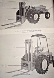 john deere 2 u0026 4 forklift fork lift parts catalog manual book jd