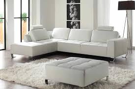 canap d angle cuir blanc design canapé d angle cuir blanc uprod