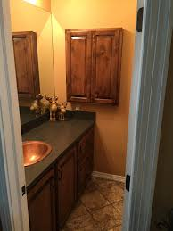 Custom Bathroom Vanities by Custom Bathroom Vanity And Matching Medicine Cabinet Wood Knotty
