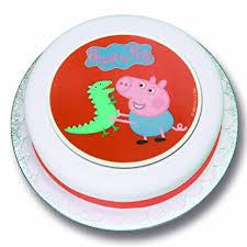 peppa pig cake peppa pig cake decoration george s dinosaur