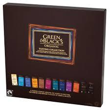 green u0026 black u0027s organic tasting collection boxed chocolates 395g
