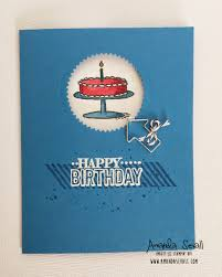 amanda sevall designs 365 cards happy birthday to my husband