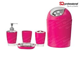 Red Bathroom Accessories Sets by 17 Best Images About Colour Pink On Pinterest Toothbrush Holders