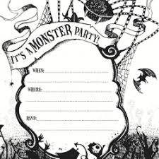 free printable halloween birthday invitations for kids u2013 fun for