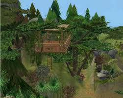 Treehouse Community by Mod The Sims Welcome To The Jungle Nature U0027s Playground A Fun