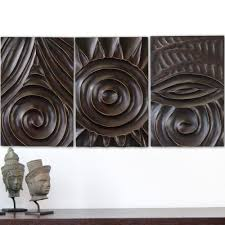 floral delights decorative mango wood picture photo home home design multi panels oriental decor wood carved floral wall