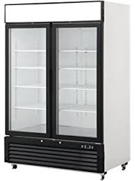 commercial 3 glass door merchandiser upright