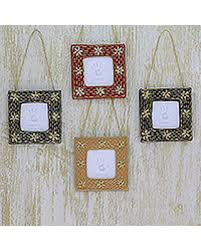 special beaded photo frame ornaments cherished memories