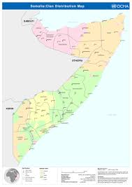 Map Of Somalia Un Clan Map Of Somalia Page 3 Somalinet Forums