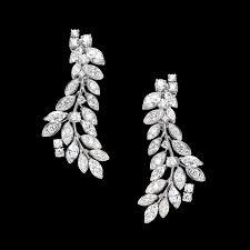 piaget earrings white gold diamond earrings g38lf200 piaget luxury jewelry