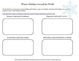 education world winter holidays around the world