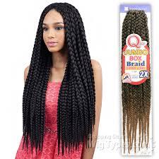 box braids hairstyle human hair or synthtic freetress synthetic braid que jumbo box braid extra long 2x