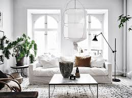 scandinavian livingroom 5 scandinavian living rooms with a bohemian twist the edit
