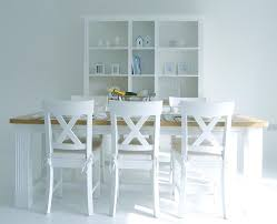 White And Oak Dining Table Dining Tables Dining Tablesnew White Dining Table