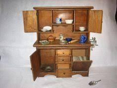 Antique Kitchen Hutch Cupboard Vintage Child U0027s Wood Step Back Kitchen Cabinet Cupboard Hutch