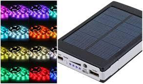 how to power led strip lights solar battery powered 5050 rgb led strip light kit usb power