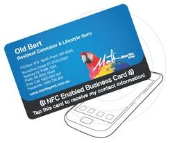 Business Cards Perth Nfc Cards Custom Encoded For Your Business Martin Print