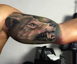 Forearm Wolf - 90 wolf tattoos tattoofanblog