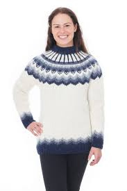 white wool sweater freyja sweater white handknit is