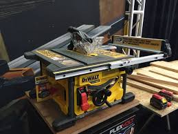 compound miter saw vs table saw dewalt introduces two cordless power tools you never thought
