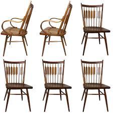 set of six kipp stewart centennial chairs for drexel at 1stdibs