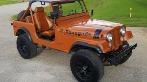 orange jeep cj 1980 jeep cj 7 w66 dallas 2017