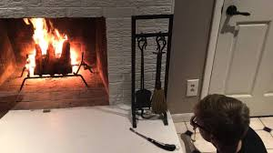 adjusting amount of gas in fireplace youtube