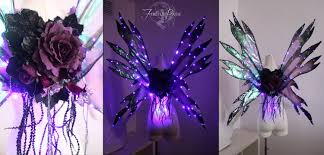 light up fairy wings light up fairy wing tutorial from fireflypath on etsy studio