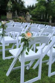 outdoor wedding ceremony chair decorations wedding decor chair