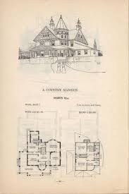Victorian Mansion Blueprints by 59 Best Victorian House Floor Plans Images On Pinterest Vintage