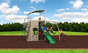 Swing Set For Backyard by Choosing The Right Swing Set Why Metal Playsets Might Just Be What Yo