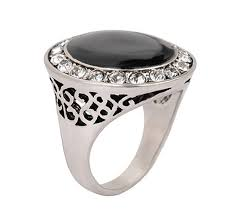 aliexpress buy mens rings black precious stones real men rings big black enamel precious stones antique silver plated
