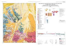 Nevada County Map Preliminary Geologic Map Of The Sloan Quadrangle Clark County