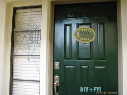 diy halloween spiderweb window decoration diy fyi creatively