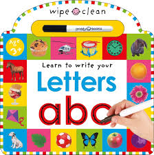 amazon com wipe clean letters wipe clean learning books