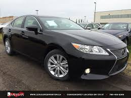 black lexus 2015 new black 2015 lexus es 350 premium package review east edmonton