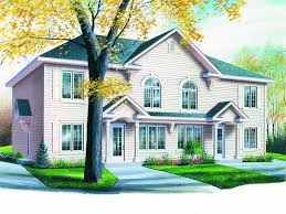 multi family house plans triplex multi family house plans triplexes townhouses the house plan shop