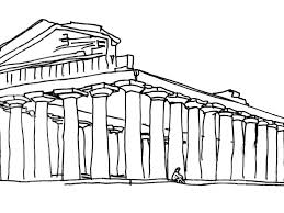 greek temple floor plan 500 bce temple of ceres u2013 chronology of architecture