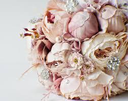 Fake Wedding Flowers Bridal Bouquet Etsy