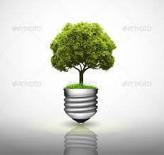 light bulb with green tree by avantgraph graphicriver