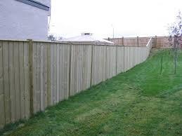 Backyard Fence Engaging Backyard Fence As Wells As Backyard Fence Ideas Home